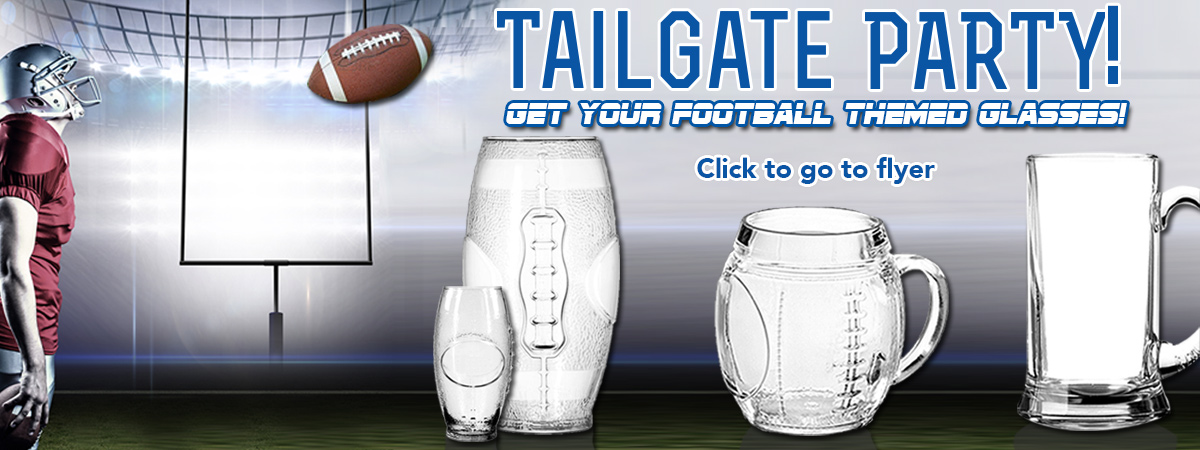 Football Tailgate Party Mugs!