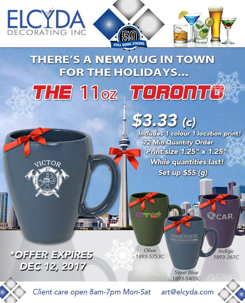 Toronto Mug Flyer